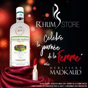 Heritiers Madkaud rhum Store rhum agricole blanc Castelmore