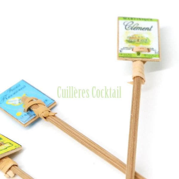 cuillère cocktail collector pour remuer mon ti'punch