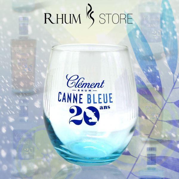 verre clément 20ans canne bleue