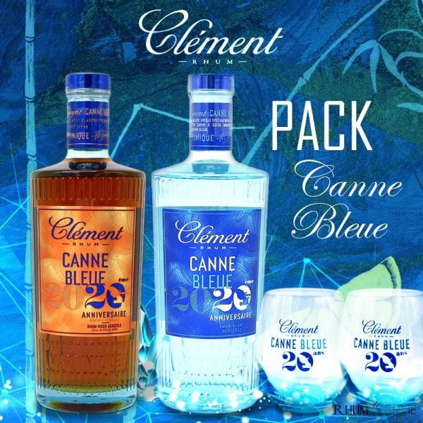 Pack Clément Canne Bleue 2020 by Rhum Store