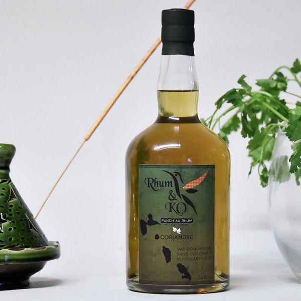 Rhum&Ko Rhum Store punch coriandre rhum arrangé