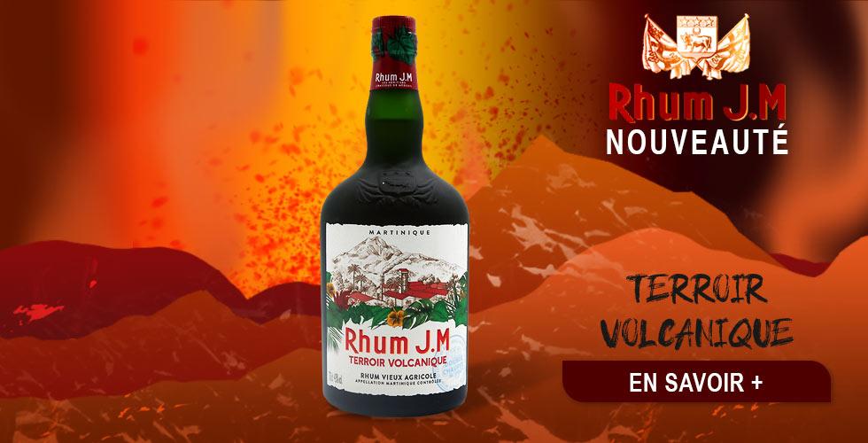 rhum agricole JM terroir volcanique Rhum Store